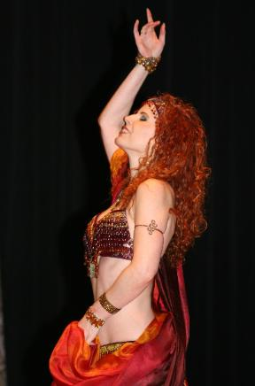 Samira Shuruk, Belly Dancer